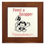 Feed a Blogger Framed Tile