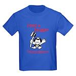 Feed a Blogger Kids Dark T-Shirt