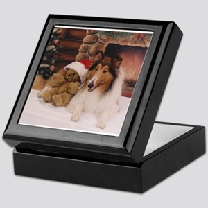 Collie Keepsake Box
