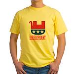 Irrelephant Yellow T-Shirt