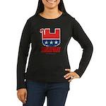 Irrelephant Women's Long Sleeve Dark T-Shirt