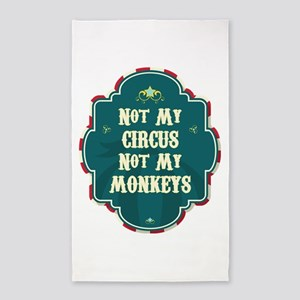 Not My Circus Area Rug