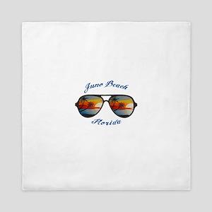 Florida - Juno Beach Queen Duvet