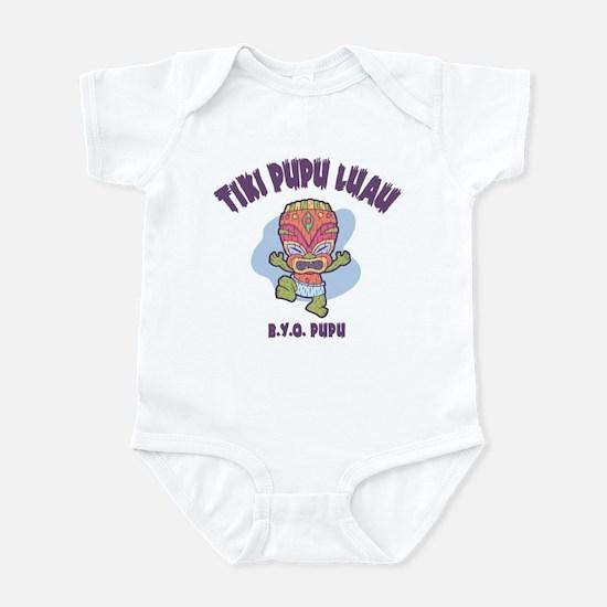 Tiki Pupu Luau Infant Bodysuit