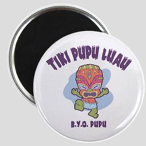 Tiki Pupu Luau Magnet