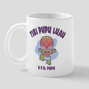 Tiki Pupu Luau Mug