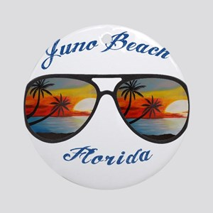 Florida - Juno Beach Round Ornament