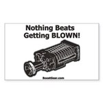 Nothing Beats Getting Blown! Supercharger Sticker