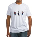 Movie monkeys 2 Fitted T-Shirt
