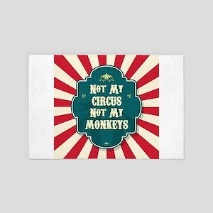 Not My Circus 4' x 6' Rug