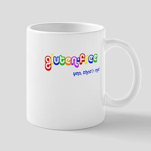 gluten-free, yep that's me! Right Hand Mug