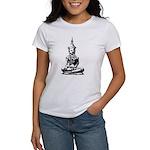 Buddha (Black) Women's T-Shirt
