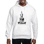Buddha (Black) Hooded Sweatshirt