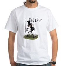 The Mad Hatter White T-Shirt