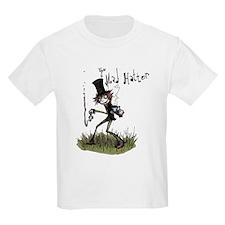 The Mad Hatter Kids Light T-Shirt