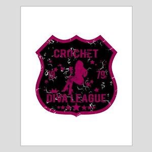 Crochet Diva League Small Poster