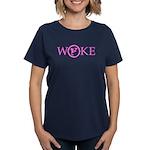 Flat Earth Woke Women's Classic T-Shirt (p)