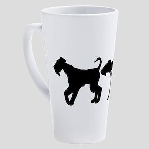 Airedale Terrier 17 oz Latte Mug