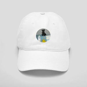 Black Miniature Schnauzer Cap