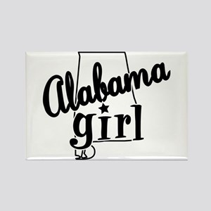 Alabama Girl Rectangle Magnet