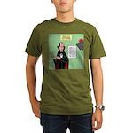 Dracula Spokesperson Organic Men's T-Shirt (dark)