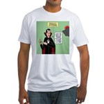 Dracula Spokesperson Fitted T-Shirt