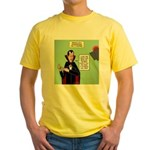 Dracula Spokesperson Yellow T-Shirt