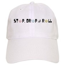 Stop, Drop & Roll (Black) Cap