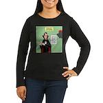 Dracula Spokesper Women's Long Sleeve Dark T-Shirt