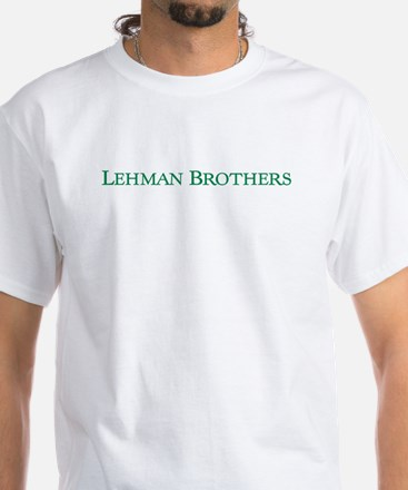 Lehman Brothers White T-Shirt