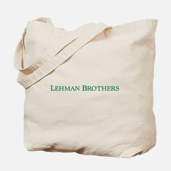 Lehman Brothers Tote Bag