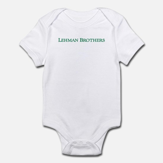 Lehman Brothers Infant Bodysuit