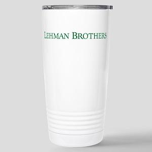 Lehman Brothers Stainless Steel Travel Mug