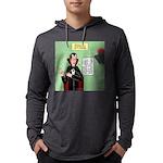 Dracula Spokesperson Mens Hooded Shirt