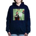 Dracula Spokesperson Women's Hooded Sweatshirt