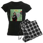 Dracula Spokesperson Women's Dark Pajamas