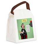 Dracula Spokesperson Canvas Lunch Bag