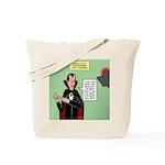 Dracula Spokesperson Tote Bag