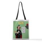 Dracula Spokesperson Polyester Tote Bag
