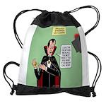 Dracula Spokesperson Drawstring Bag
