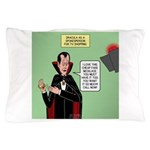 Dracula Spokesperson Pillow Case