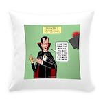 Dracula Spokesperson Everyday Pillow
