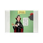 Dracula Spokesperson Rectangle Magnet (100 pack)