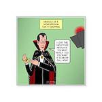 Dracula Spokesperson Square Sticker 3