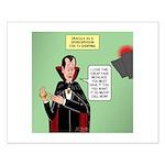 Dracula Spokesperson Small Poster