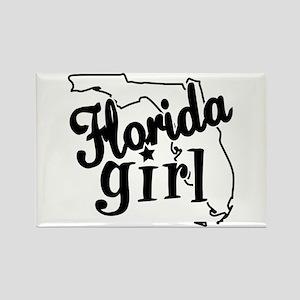 Florida Girl Rectangle Magnet