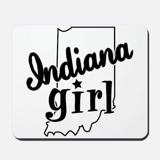 Indiana Girl Mousepad