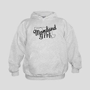 Maryland Girl Kids Hoodie