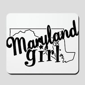 Maryland Girl Mousepad