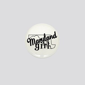 Maryland Girl Mini Button